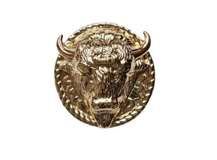concho - buffalo head XXL