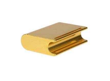 Copper Thick Leather Craft Belt Saddle Gold Press Polished Finishing Leather