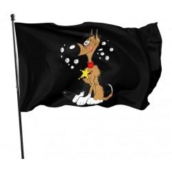 lucky luke's dog flag Rintinkan