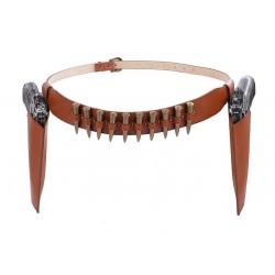 Handmade holster belt