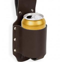 Holster for a drink holder brown